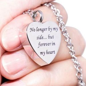 Jewelry - A New No Longer By My Side .... In My Heart Urn